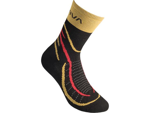 La Sportiva Sky Socks, black/yellow